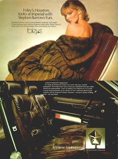 Foley's, Furs and a Chrysler Imperial