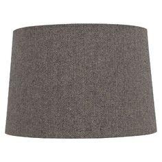 Target : Threshold™ Lampshade Herringbone Large - Grey : Image Zoom