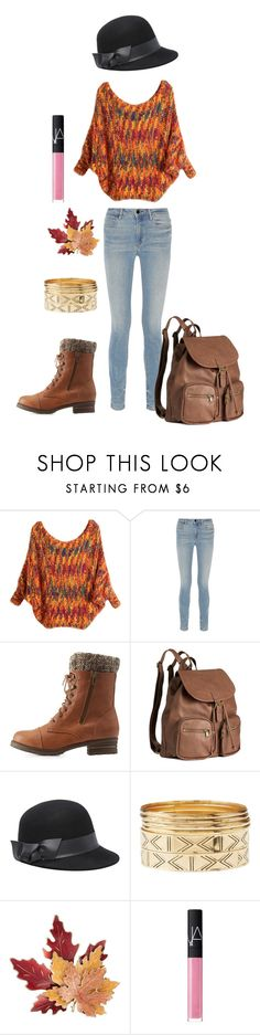 """The random put together..."" by chrisantal ❤ liked on Polyvore featuring Alexander Wang, Charlotte Russe, H&M, Bebe, Croft & Barrow and NARS Cosmetics"