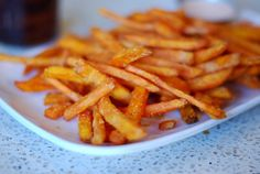 sweet potato fries are my favorite food.  Weird? you betcha.