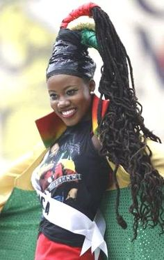 A woman with the traditional dreads in Jamaica. Jamaican People, Jamaican Women, Jamaican Art, Jamaican Quotes, Teddy Boys, We Are The World, People Of The World, Black Is Beautiful, Beautiful People