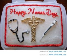Nurses' Day Cake