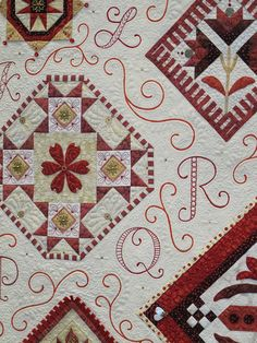 Red Letter Daze by Janet Stone close up by Janet BA, via Flickr