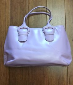 Cole Haan lilac purse, $59 + find much more at www.thexchangeclothing.com