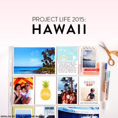 In a Creative Bubble: Project Life: Hawaii