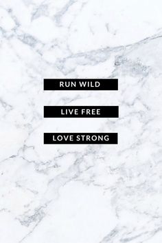 "Just something I created. From For King and Country's 2015 album: "" Run Wild. Live Free. Love Strong."""