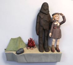 I loves me some Pattie Chalmers.   Pattie Chalmers, HERstory - The Clay Studio