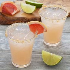 Fresh grapefruit juice adds a zesty punch and lovely pink color to this refreshing skinny margarita. For the perfect finish, upgrade the salt rim on your glass by mixing in a little grapefruit zest to add to both the presentation and flavor.