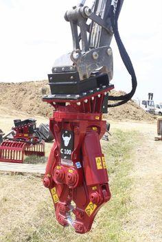 C100 demolition crusher