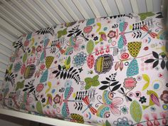 June Bug Fitted Crib Sheet-Design Your Own. $38.00, via Etsy.