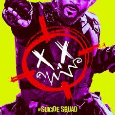 'Suicide Squad' Deadshot Poster