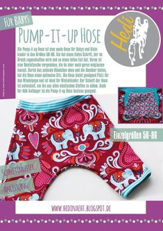 eBook Pump-it-up pants Baby (Gr.50-86)