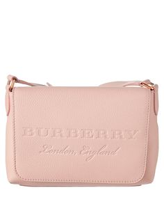 14b47fab0c03 Burberry Burberry Small Embossed Leather Messenger Emboss, Burberry, Emboss  Painting