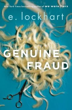 20 recommended books to read for young adults, including Genuine Fraud by E. Lockhart.