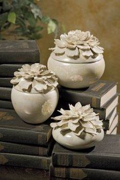 Blair Hand Sculpted Floral Boxes