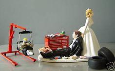 truck wedding cake topper - Google Search