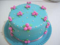 bolo mini rosinhas