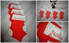 Vianočná ponožky Christmas Stockings, Sewing, Holiday Decor, Children, Accessories, Home Decor, Needlepoint Christmas Stockings, Young Children, Dressmaking