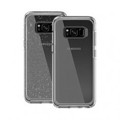 The OtterBox MySymmetry Series allows you to show off your Samsung Galaxy S8 through the clear case back.