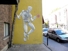 Awesome work by Lanier in Montreal, uploaded to GSA by the equally dope XRAY (http://globalstreetart.com/xray).