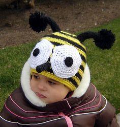 PDF The Bee Hat CROCHET PATTERN No 080 All sizes by JTeasycrochet, $3.99