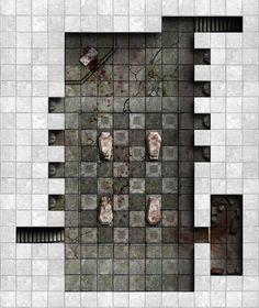 Kobold Hall - Area 2 : The Tomb by dasomerville on DeviantArt