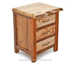 Natural Wood End Tables & Nightstands