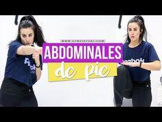 Abdominales de pie - YouTube