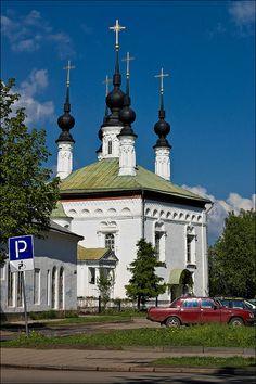 Suzdal, Russia, Tsarekonstantinovskaya church