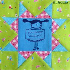 catandvee: Farmer's Wife Sew-Along - Addie - foundation paper...