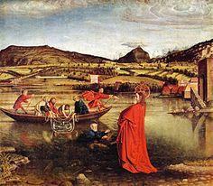 La pesca milagrosa (en alemán, Der Wunderbare Fischzug) es la obra más conocida del pintor del gótico flamenco suizo Konrad Witz. Pintada al temple sobre tabla, data del año 1444. En el marco se puede leer «Hoc opus pinxit magister conradus sapientis de basilea 1444», esto es, Esta obra fue pintada por el maestro Konrad Witz de Basilea en 1444. Mide 132 cm de alto y 154 cm de ancho. Se exhibe actualmente en el Museo de arte e historia de Ginebra (Suiza). Es un fragmento del retablo de san…
