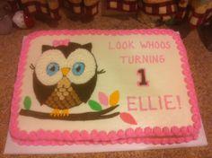 Ellies 1st birthday!- cutest cake ever!