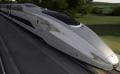 A new futuristic concept high-speed bullet train named Mercury, designed by Priestmangoode has been unveiled in the UK, that would be capable of speeds upto 225 mph. Rail Transport, Public Transport, Locomotive, Future Transportation, Rail Train, High Speed Rail, Electric Train, Speed Training, Train Set