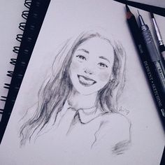 practice @derwentpencils (light  dark wash) on @cansonpaper  #nayeon #twice #twicefanart #kpopfanart #illustration #sketching #doodles #doodlesofinstagram #sketchbook #drawings #트와이스 #나연 #traditionalart