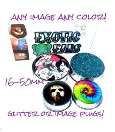 Large plugs big plugs large tunnels big tunnels size by ExoticEars