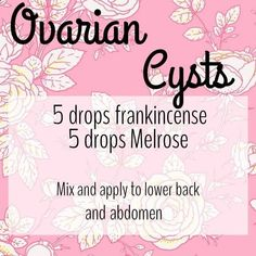 Ovarian Cyst Remedies - Ovarian Cyst Miracle - PMS Essential Oils YL DIY Ovarian Cysts Young Living essential oils More Than 157,000 Women Worldwide Have Been Successful in Treating Their Ovarian Cysts In 30-60 Days, and Tackle The Root Cause Of PCOS Using the Ovarian Cyst Miracle™ System! More Than 157,000 Women Worldwide Have Been Successful in Treating Their Ovarian Cysts In 30-60 Days, and Tackle The Root Cause Of PCOS Using the Ovarian Cyst Miracle™ System!