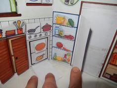 aprender el vocabulario de la casa y la ubicación de cada objeto.