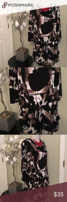 ALFANI DRESS Gorgeous dress, two front pockets , adjustable waist , made of polyester and spandex Alfani Dresses Mini