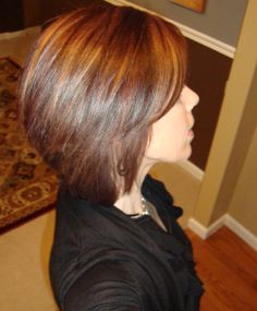 Hottest Stacked Bob Hairstyles 2015