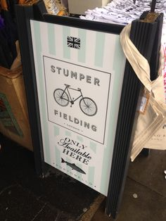 Stumper and Fielding logo tshirt, have.