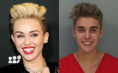 Not Bill Walton ‏@NotBillWalton  Here is a scientific side by side photo comparison of Justin Bieber with makeup and without