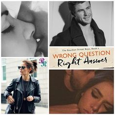 Readers Retreats: Wrong Question, Right Answer (The Bourbon Street Boys #3) by…