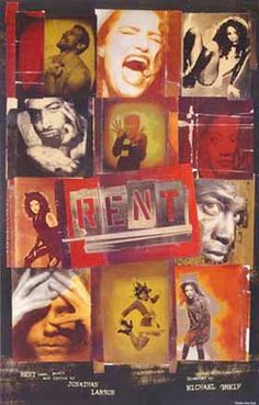 RENT - Saw this the first time with my daughter on Broadway in New York City & then again with both my son & daughter on Broadway in New York City