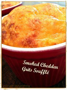 Grits Soufflé (perfect southern side) - grace grits and gardening