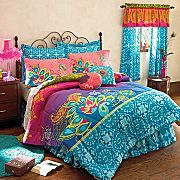 Bedding I'm thinking about getting our daughter! Love the colors!