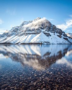 Fall fades away and Winter slowly begins to take hold in the Canadian Rockies