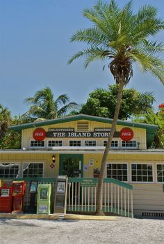 The Island Store, Captiva Island, Florida. Pick up a copy of Must Do from the green box just outside the door!
