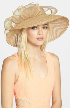Foxfield! -- August Hat Bow Derby Hat available at #Nordstrom