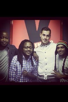 Yfm music team, DJ Claude and GBCOLLECTIVE