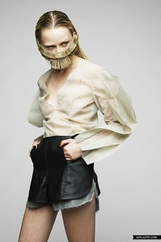 """""""Hell Desires"""" - AW'2012-2013 Fashion Collection // Monica Lloret"""